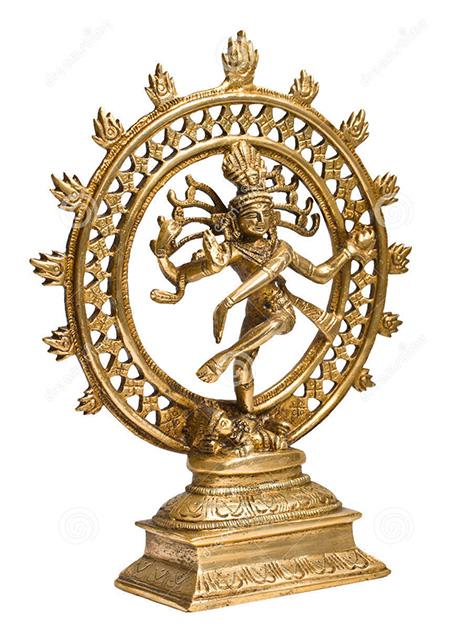 Statue of Shiva Natura Lod of Dance